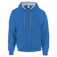 CHOOSE DESIGN - ROYAL BLUE WITH GREY INNER HOOD